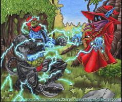 Orko vs. Trap Jaw