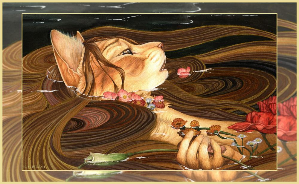 Ophelia by BloodhoundOmega
