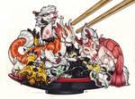 A Dish of Dragons