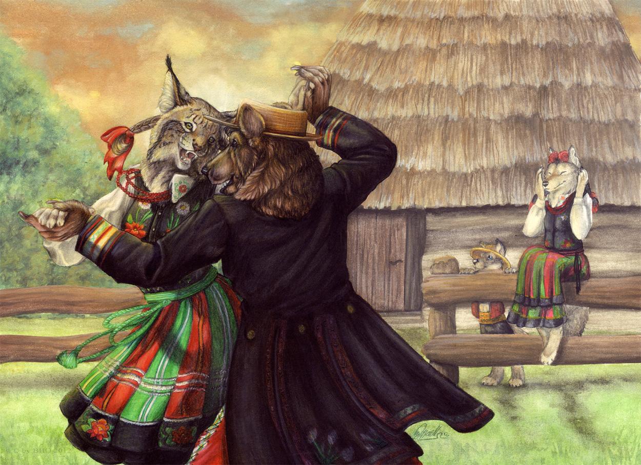 Dance 'till Dusk by BloodhoundOmega