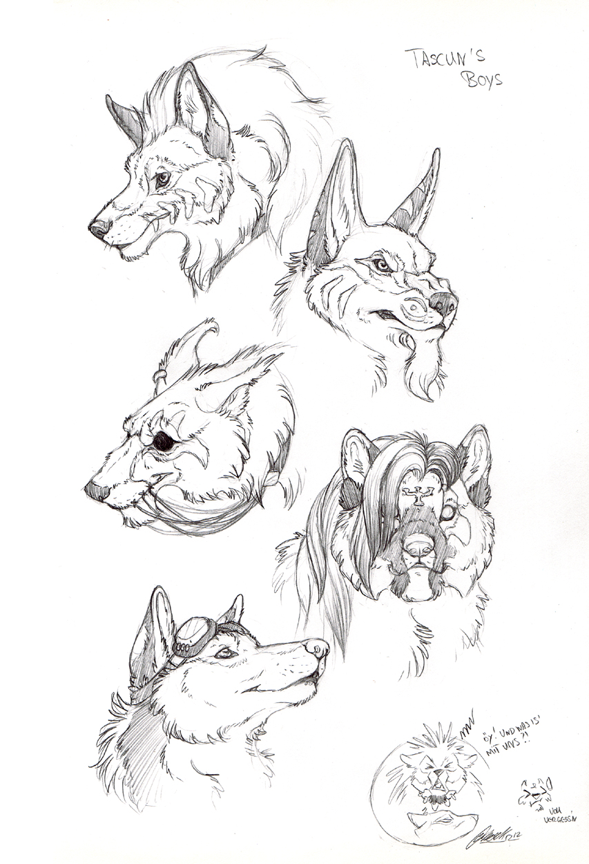 Tascun's Boys by BloodhoundOmega