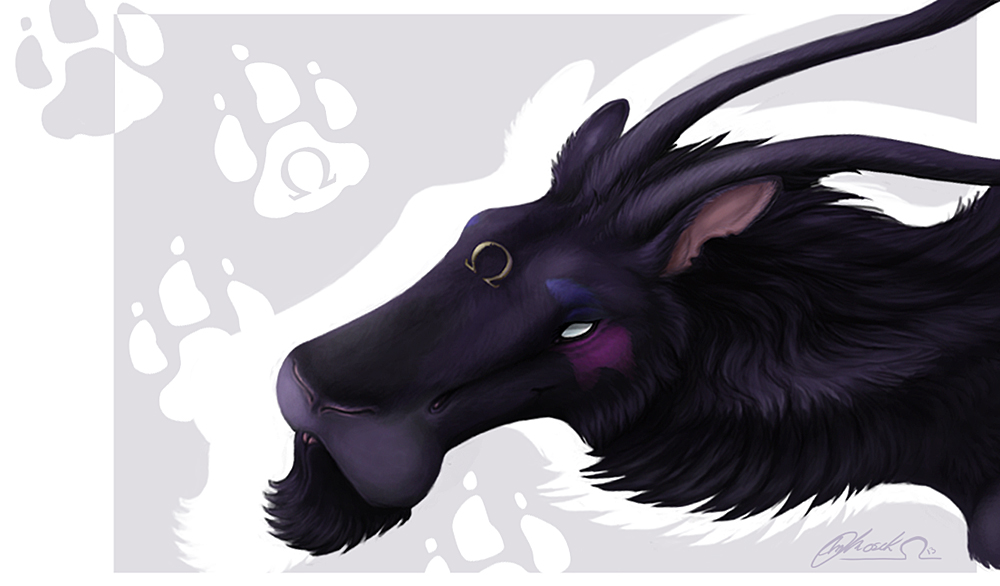 Bloodi - Card Portrait by BloodhoundOmega
