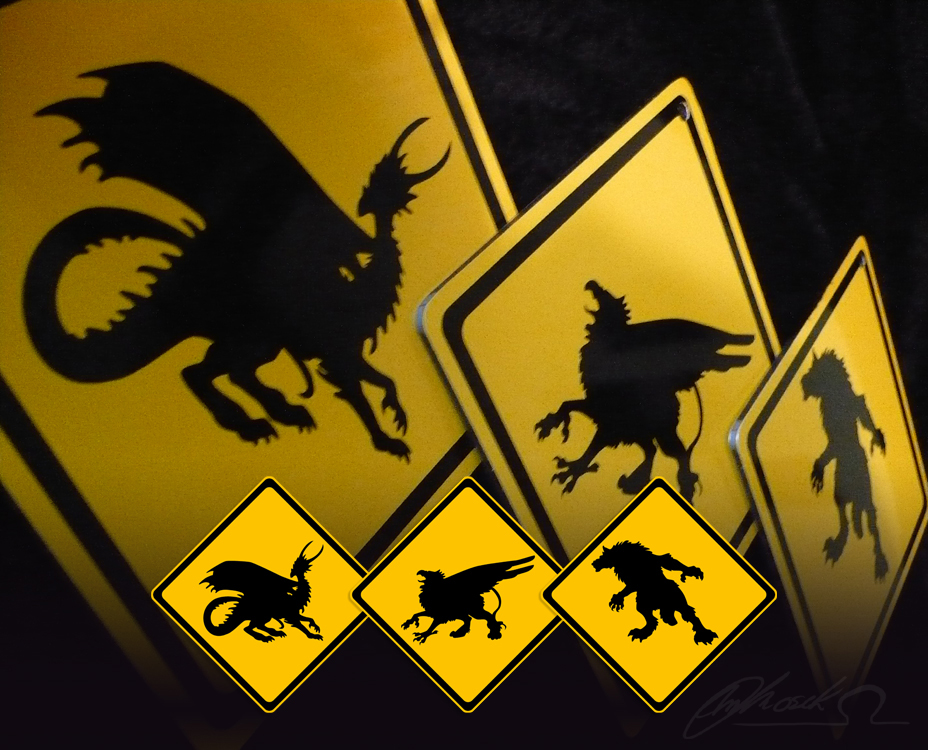Critters Xing by BloodhoundOmega