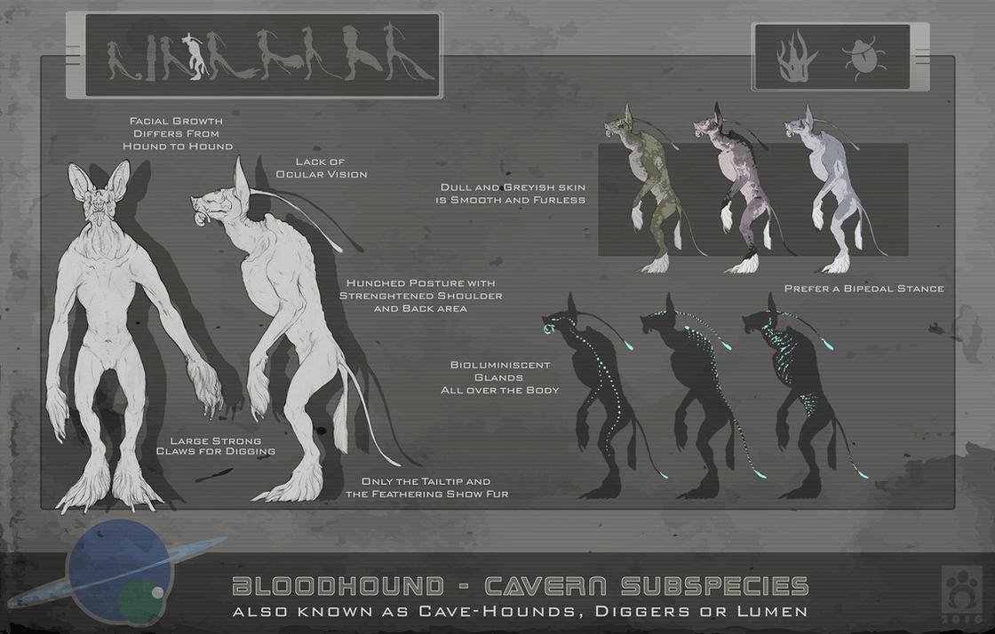 Bloodhound Subspecies - Caves 2.0 by BloodhoundOmega