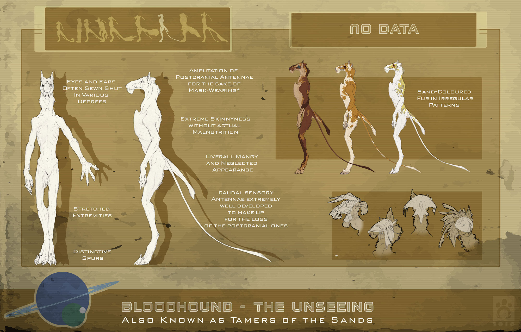 Bloodhound Subspecies - Unseeing 2.0 by BloodhoundOmega