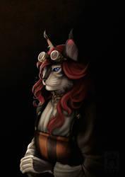 Vorndess' Steampunk Portrait