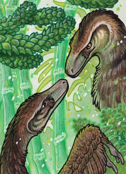 ACEO Velo(ve)ciraptors