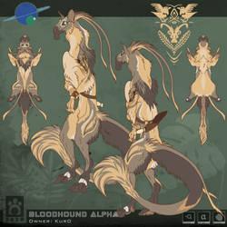 Bloodhound Sheet - Kur0 / ArtYeen
