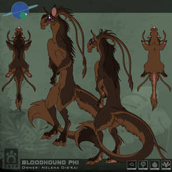 Bloodhound Sheet - Nelena