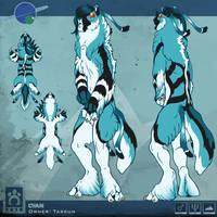 Bloodhound Sheet - Cyan