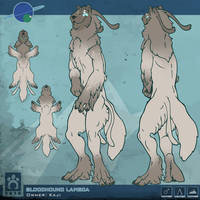 Bloodhound Sheet - Kaji