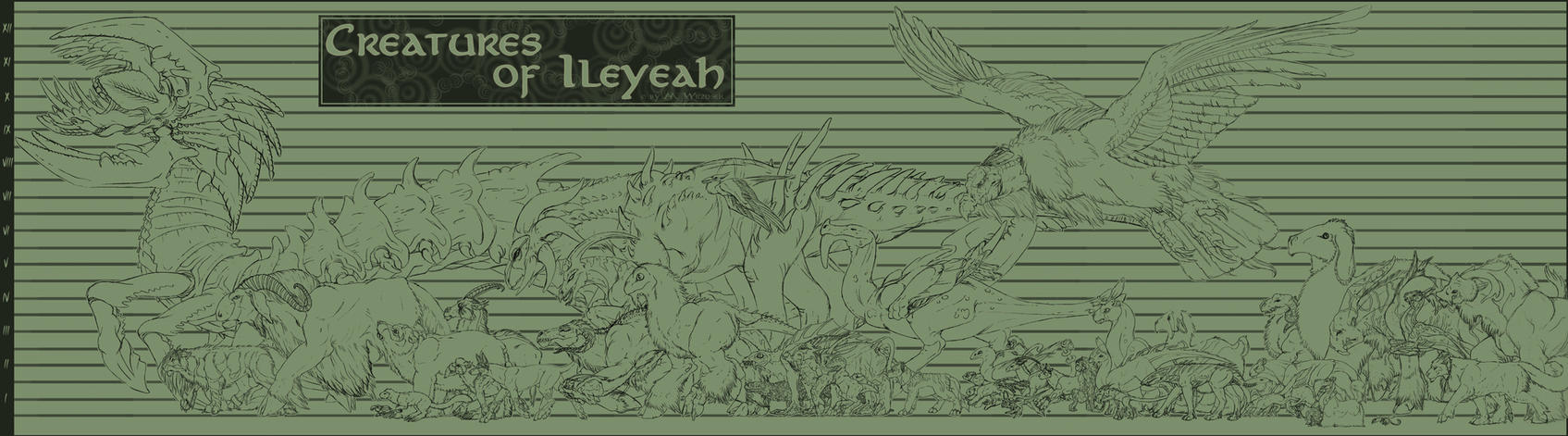 Creatures of Ileyeah by BloodhoundOmega