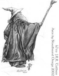 Gandalf enlightening Moria