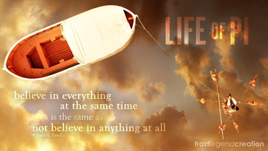 Life Of PI Quote By Froztlegend On DeviantArt