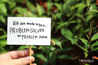 Problem Solver by froztlegend