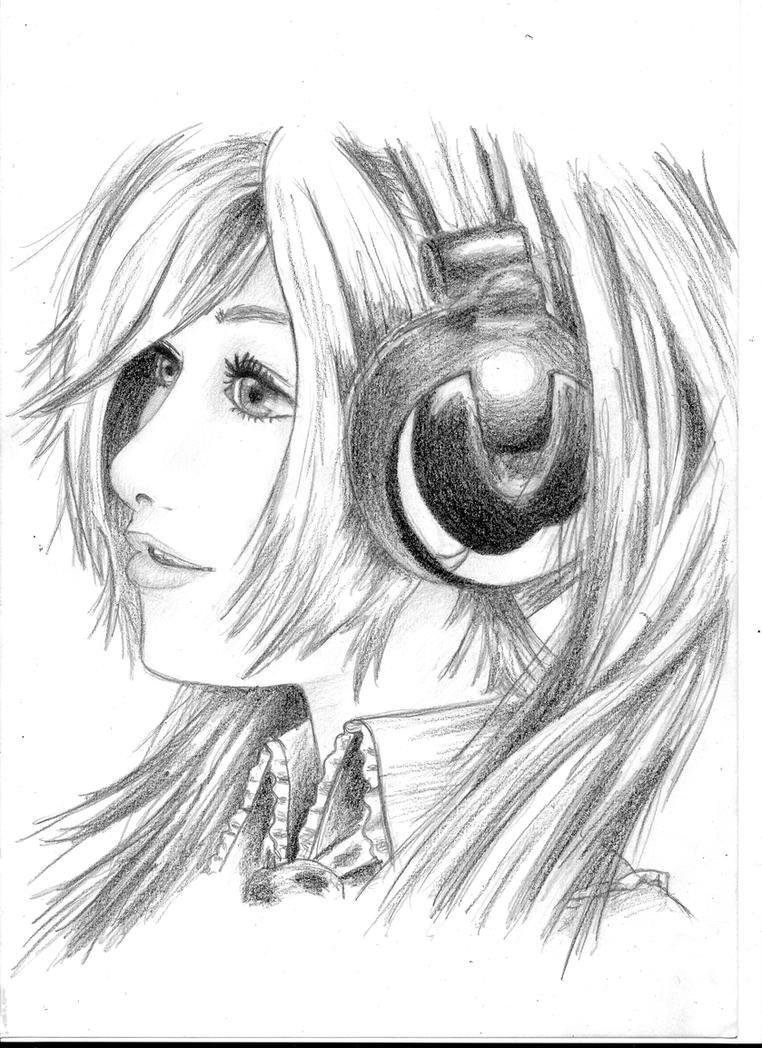 Music Girl by ninawesth