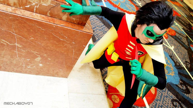 Damian Wayne: Hotel Mission by jinxed-jem