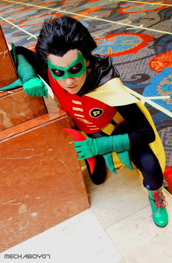 Damian Wayne: Scouting by jinxed-jem