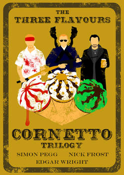 The Three Flavours Cornetto Trilogy