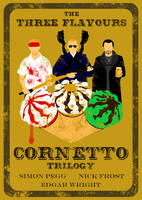 The Three Flavours Cornetto Trilogy by AndyDaRoo