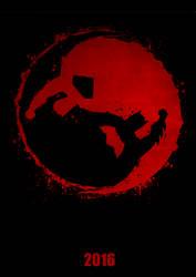Batman v Superman Yin Yang Poster