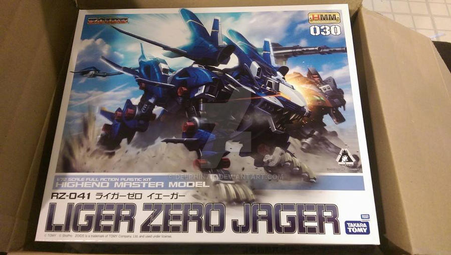 Liger Zero Jager by delphin714