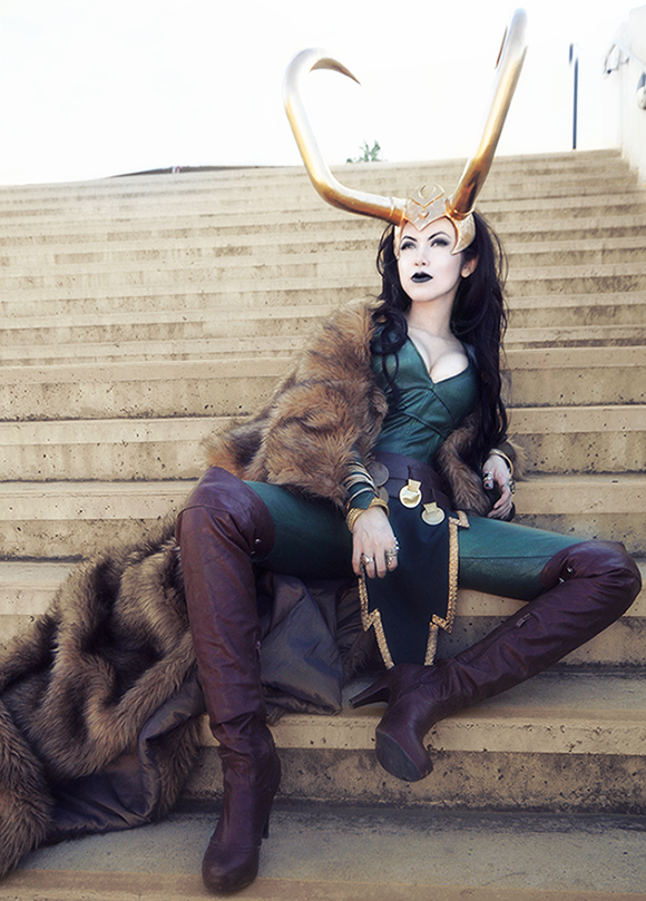 lady loki by Forkninja
