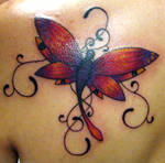 Dragonfly: back shoulder