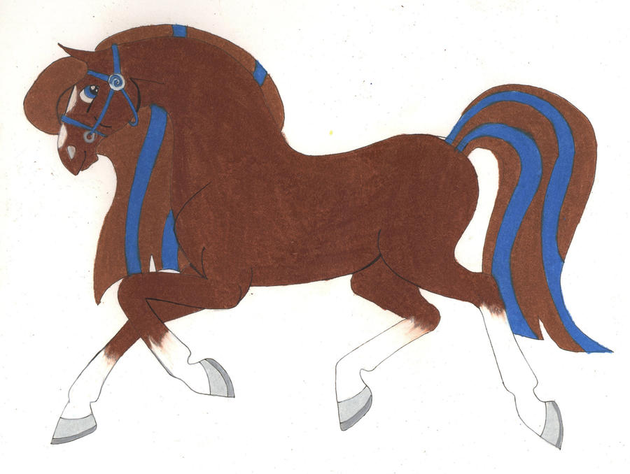 horseland coloring pages calypso