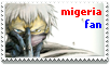 migeria fan stamp by phalon1111