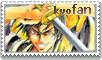Kyo Fan Stamp by phalon1111
