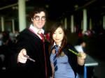 5.11.2011 Supanova-Harry Potter and Cho Chang