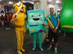 9.11.2013 Supanova - Adventure Time Gang