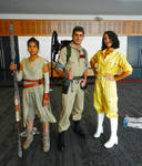 Supanova GC - Rey, Ghost Buster and April O'Neil
