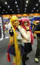 Supanova GC - Sailor Moon and Chibiusa/Black Lady