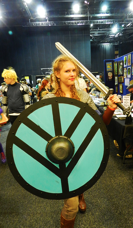 Supanova GC - Vikings Lagertha