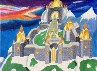 Spyro II - Winter Tundra by DecemberWildfire