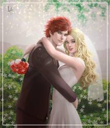 CM: Wedding Photoshoot (Gaara x Harley) by DecemberWildfire
