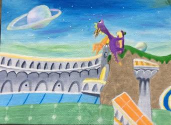 Spyro III: Enchanted Towers Skatepark by DecemberWildfire