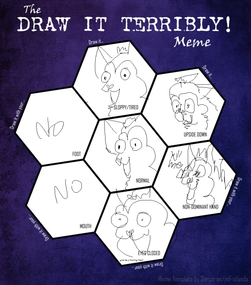 draw it terribly meme by HiImFromTransformice