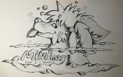 Inktober 2019 Day 2 - Mindless