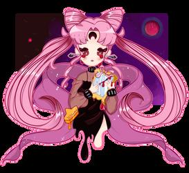 FanArt - SailorMoon - BlackLady by KiyokoHoshi
