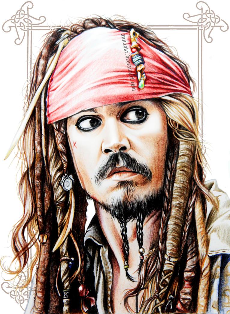Jack Sparrow. Cap'tain Jack Sparrow by NutellaInMyBlood