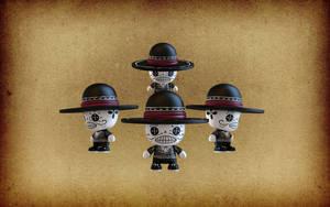 3D Toy Calaveras by IgorSan