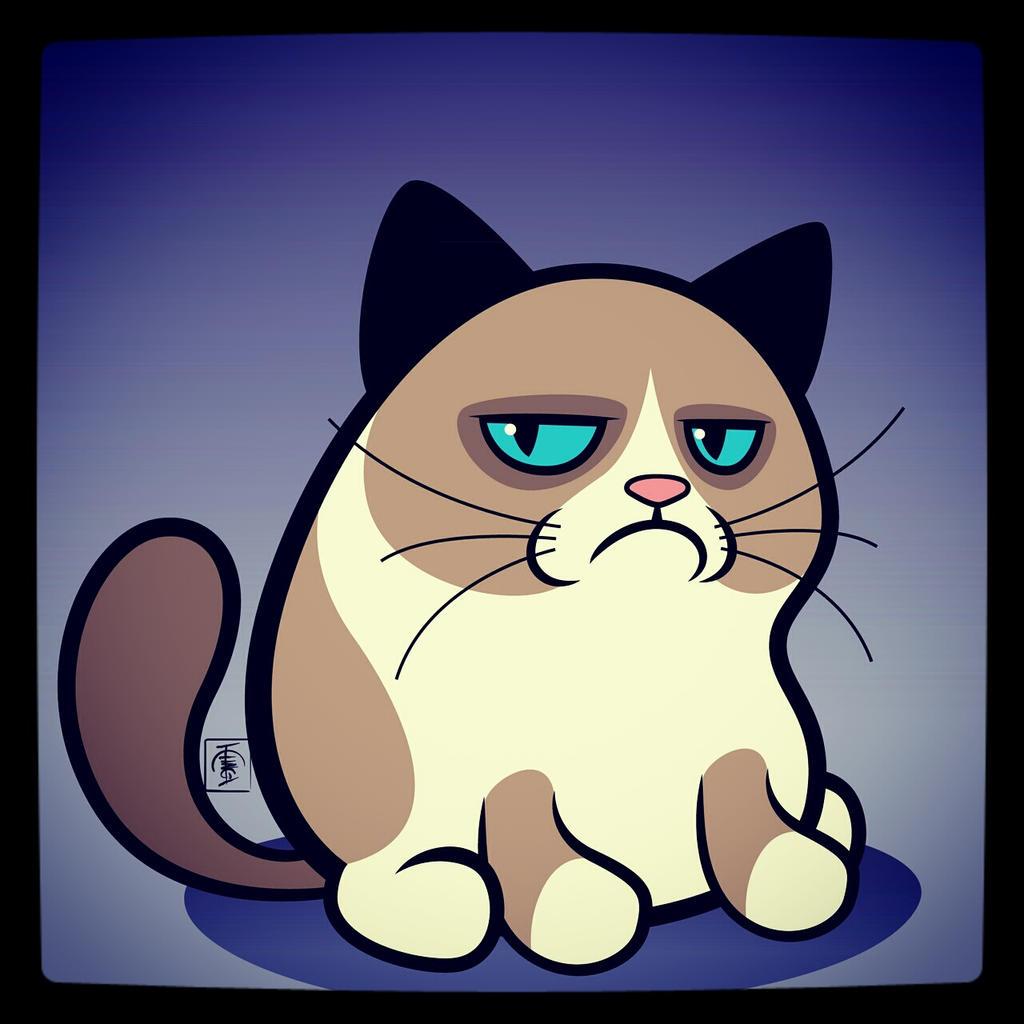 Grumpy Cat by IgorSan