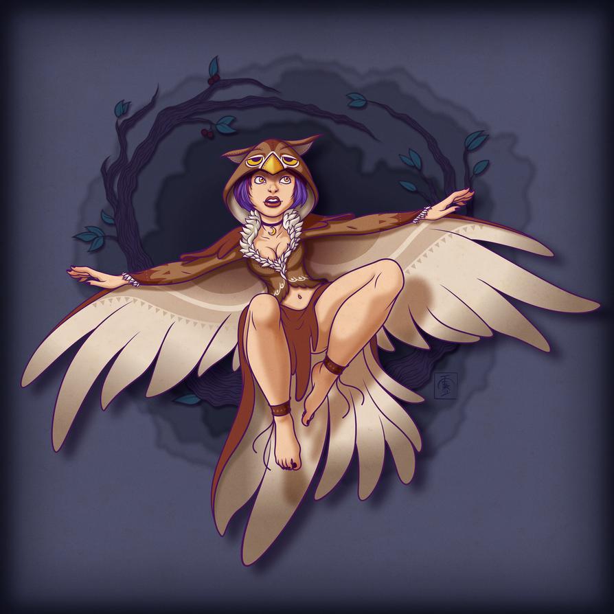 Owl Witch by IgorSan