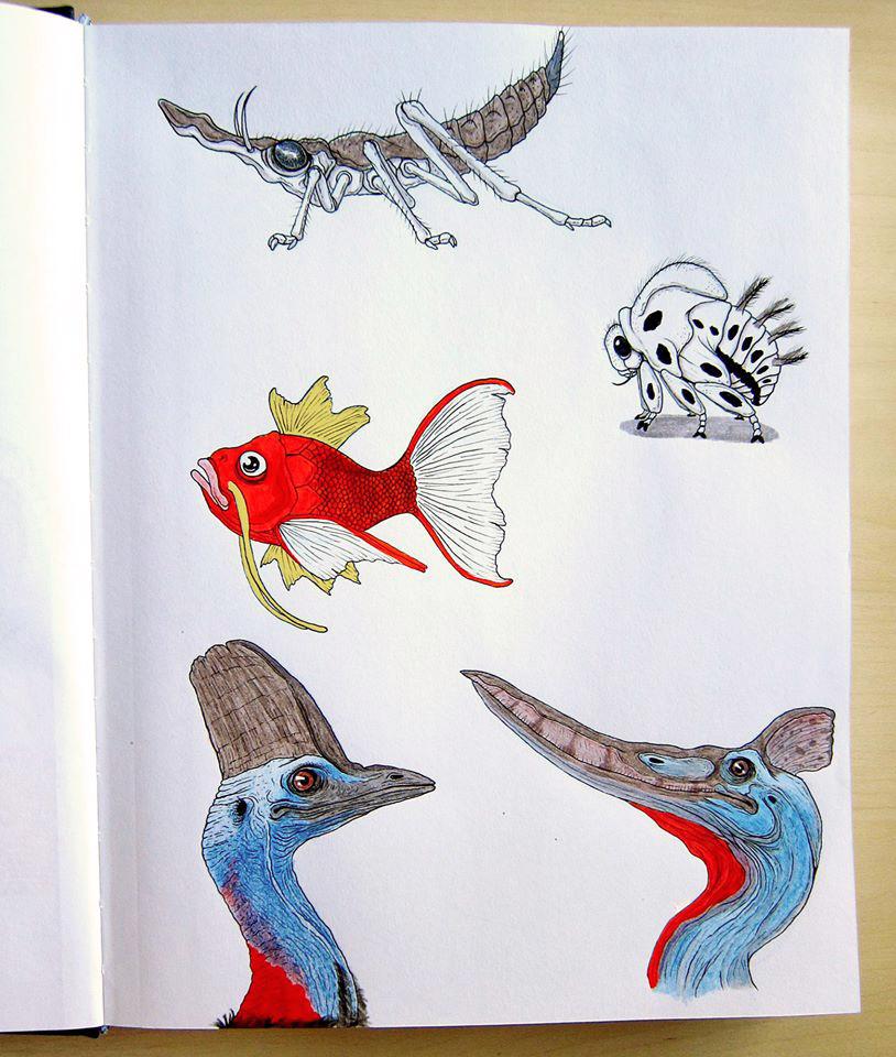 Sketchbook dump 2 by IgorSan