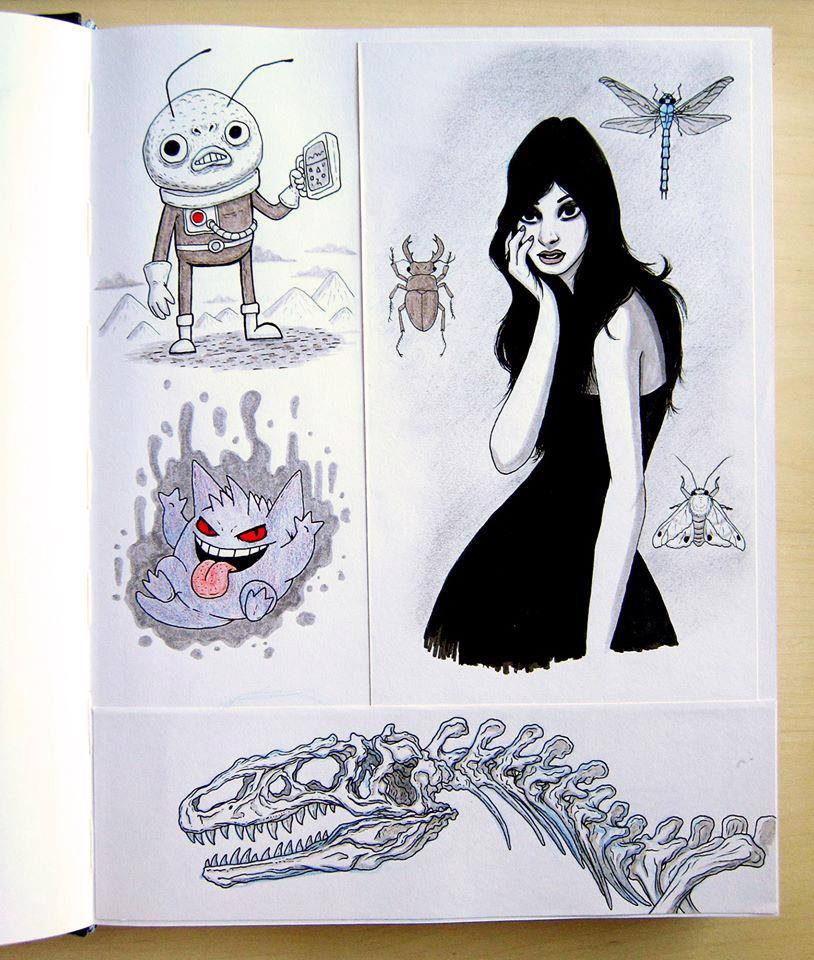 Sketchbook dump 3 by IgorSan