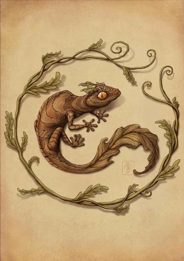 Leaf Gecko by IgorSan