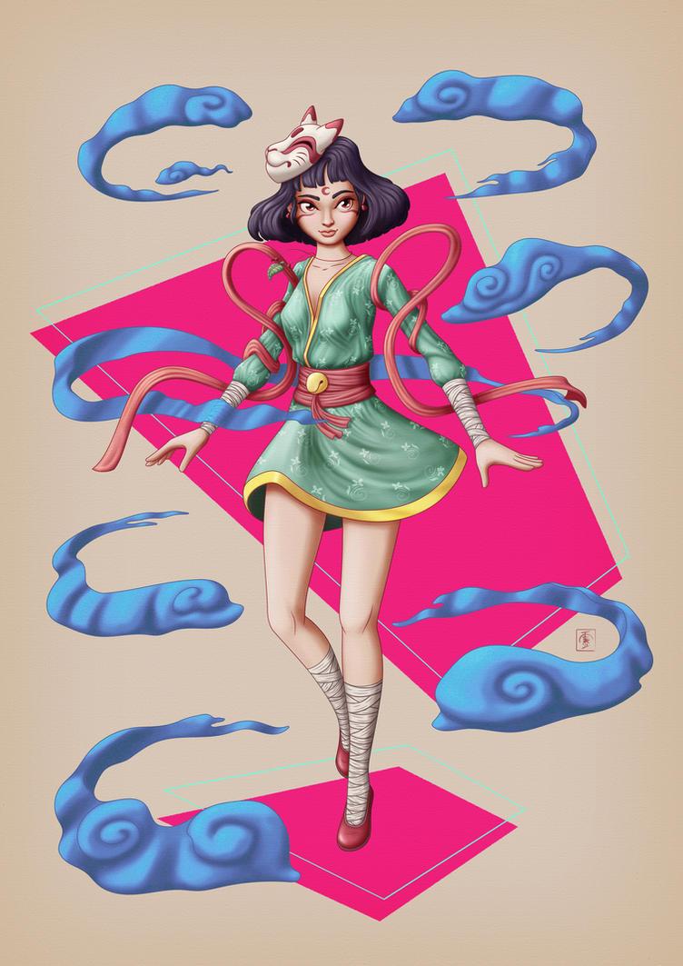 Huli- Character Study by IgorSan